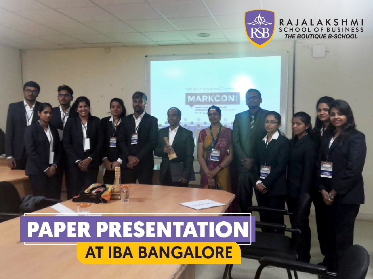 Research Paper Presentation - IBA Bangalore